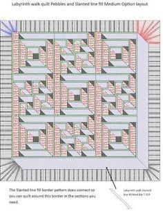 Resultado de imagem para Labyrinth Walk QUILT
