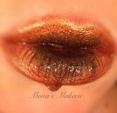 Happy Thanksgiving ... Lip makeup look Mona's Makerie on Facebook & Instagram