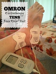 Omron Electrotherapy TENS Unit Review   Mommy Runs It  http://www.mommyrunsit.com/omron-electrotherapy-tens-unit-review-giveaway/ #fitness #running #painrelief