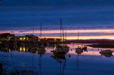 Irvine harbour, Ayrshrie, Scotland