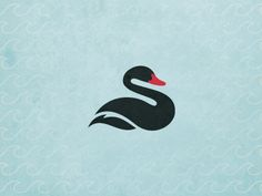 S is for Swan. Really elegant & simple.