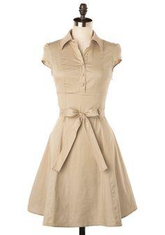 Soda Fountain Dress in Vanilla, #ModCloth