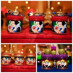 lembrancinhas de branca de neve on Instagram Disney Princess Birthday Party, Baby Birthday, Birthday Bash, Snow White Birthday, Princesas Disney, Party Time, First Birthdays, Decoration, Tea Party