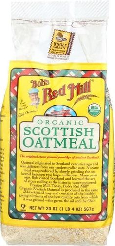 Bob's Red Mill Organic Scottish Oatmeal - 20 Oz - Case Of 4
