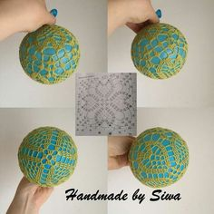 Ezia Pompeo's media content and analyticsImage gallery – Page 306174474664050877 – Artofit Quilted Christmas Ornaments, Christmas Tree Baubles, Crochet Christmas Ornaments, Christmas Crochet Patterns, Crochet Snowflakes, Handmade Ornaments, Christmas Crafts, Lampe Crochet, Crochet Doily Rug