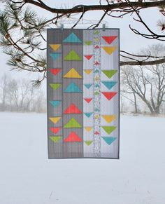 Half Square Triangles, Squares, Triangle Quilt Tutorials, Triangle Wall, Nancy Zieman, Fabric Strips, Quilting Patterns, Sewing Tutorials, Creativity