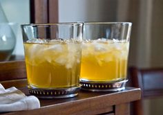 California Bee Sting Cocktail