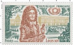 Timbre 1970 LOUIS XIV | WikiTimbres