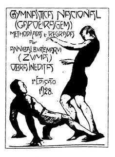 History of Capoeira - Print from 1928
