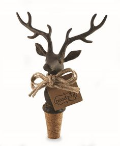 Now available at our site: Mud Pie Deer Bott.... Get yours here http://www.beautyofasite.com/products/mud-pie-deer-bottle-topper?utm_campaign=social_autopilot&utm_source=pin&utm_medium=pin