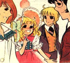 Candy, Anthony, Stear and Archie || (Anthony never died in the French version of the anime)