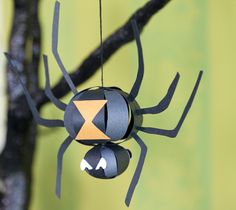 Spider Craft.. I can see how to make this now that I see it close up.