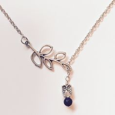 Our new line of silver lava bead diffusers are now up in the store! We are currently in love with this mini owl and branch connector necklace! So many new styles to choose from.   Happy Shopping!