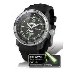 Reloj Vostok Ekranoplan Automatico Negro  http://www.tutunca.es/reloj-vostok-ekranoplan-automatico-negro