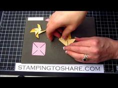 Tips for the Stampin' Up! Pinwheel Sizzlit Die