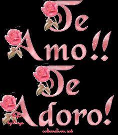 Bonito Gif De Corazon 3d Con Frase Te Amo Amor Pinterest Love