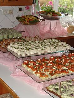 idea I Party, Tapas, Buffet, Salt, Food And Drink, Mexican, Pudding, Baking, Ethnic Recipes