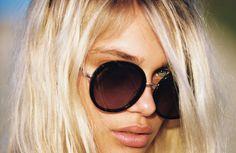 amuse society x d'blanc Round Sunglasses, Sunglasses Women, Cool Photos, Amazing Photos, Vacation, Vacations, Round Frame Sunglasses, Holidays Music, Holidays