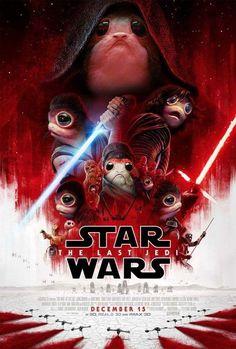 Porg Poster of Star Wars The Last Jedi Star Wars Film, Star Wars Poster, Star Wars Witze, Nave Star Wars, Star Wars Jokes, Star Wars Party, Reylo, Clone Wars, Darth Vader