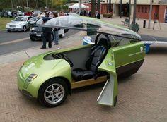 Three-Wheeled Green Machine - TREV Concept Car (GALLERY)