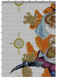гноми 7_7 Cross Stitching, Cross Stitch Embroidery, Cross Stitch Patterns, Cross Stitch Fairy, Stitch Cartoon, Cross Stitch Boards, Swedish Weaving, Xmas Stockings, Disney Quotes