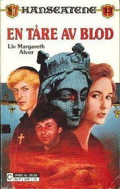 """""""En tåre av blod"""" av Liv Margareth Alver Live, Reading, Books, Movies, Movie Posters, Libros, Films, Book, Film Poster"""