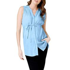 Darringls V/êtements de Maternit/é Nursing Enceinte T-Shirt Femme Top sans Manches Tops Couleur Unie D/ébardeur Bord de la Dentelle Vest Blouse /Ét/é 2019