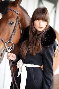 Photographer Unknown - Fashion - Portrait - Horse - Equestrian - Photography