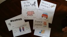 These are just a few stories for a 10 packet emergent reader set. These emergent readers use Dolch words for kindergarten.