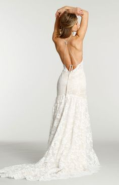Bridal Gowns, Wedding Dresses by Ti Adora - Style 7550 Wedding Dress Low Back, Country Wedding Dresses, Wedding Dresses Plus Size, Modest Wedding Dresses, Stunning Wedding Dresses, Bridal Gowns, Wedding Gowns, Nice Curves, Mermaid Style