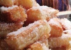 Greek Sweets, Greek Desserts, Greek Recipes, Biscotti Cookies, Vegan Sweets, Nutella, Food And Drink, Dessert Recipes, Coconut