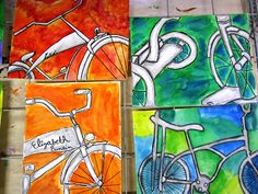 I want to ride MY bicycle.... | doodles