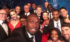 Princess Charlene and Prince Albert co-star in Usain Bolt's sports selfie