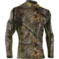 Buy the Under Armour Scent Control EVO Mock Turtleneck for Men - Long Sleeve and more quality Fishing, Hunting and Outdoor gear at Bass Pro Shops. Mens Hunting Clothes, Clothes For Big Men, Hunting Gear, Hunting Stuff, Hunting Jackets, Camo Gear, Camo Outfits, Tactical Clothing, Camo Shirts
