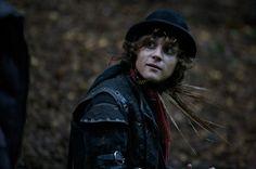 Augustus Prew as Robin. In the Secret of Moonacre he look good looking as a nice men in as a bad men