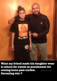 Awesomely Creative Ways To Punish Your Child (15 Pics) Some of these are quite awesome.