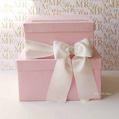 Wedding Card box Gift Card Box Card Holder. via Etsy.