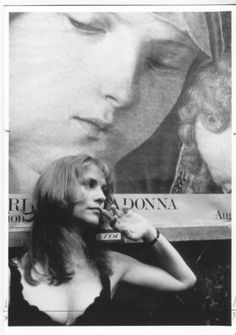 Isabelle Huppert by Leonard Freed.