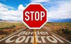 Grenzkontrolle, Grenze, Stopp