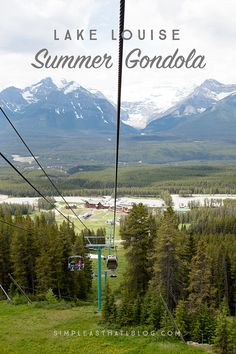 Lake Louise Gondola - the best grizzly bear viewing in the Canadian Rockies! We saw 2 bears when we went! Banff Canada, Canada Eh, Yoho National Park, National Parks, Family Vacations, Vacation Trips, Banff Hiking, Mountainous Terrain, Idaho Falls