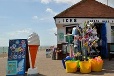 Bexhill Suns Out, East Sussex, Coast, Childhood, England, Sea, Places, Outdoor Decor, Photos