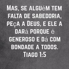 Tiago 1:5