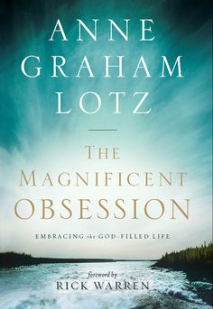 Anne Graham Lotz. I love this book! She is so real!