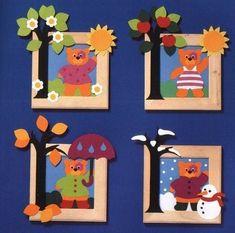 Simple Art And Craft Ideas For Adults Art Drawings For Kids, Art For Kids, Crafts For Kids, Class Decoration, School Decorations, Kindergarten Activities, Preschool Activities, Classroom Birthday, Colorful Parrots