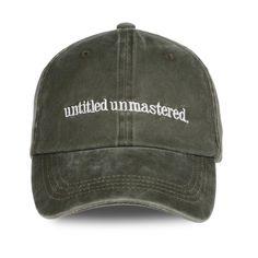 25c500709874e Cora Wang Snapback Kendrick Lamar Untitled Unmastered Embroidery hip hop  Dad Hat Rap Brand Baseball Cap