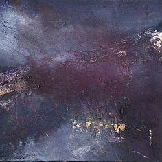 Ørnulf Opdahl: Nattlandskap, 2015, 30 x 30 cm