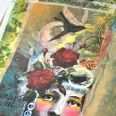 Remind yourself that you are a miracle with this DIY art journal project using old calendars. Click the pic for a closer look [On the Blog]!
