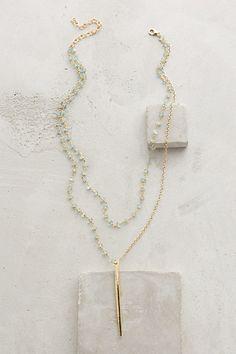 Serene Spear Necklace #anthropologie #flashpaperscissors