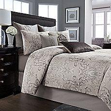 image of Wamsutta® Cambridge Comforter Set in Charcoal