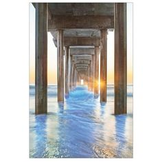 Under the Boardwalk Canvas Art Print (€47) ❤ liked on Polyvore featuring home, home decor, wall art, backgrounds, canvas home decor, interior wall decor, home wall decor and canvas wall art